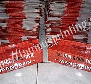 dus mandarin corrugated