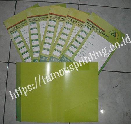 cetak map folder
