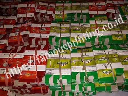 cetak packaging corrugated shunjii